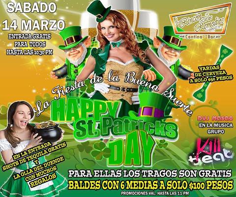 Happy st patricks day rinc n de los remedios cantina - Remedios para la mala suerte ...